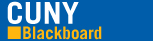 CUNY Blackboard Home page